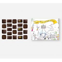 Assortiment de chocolats 180 g - Boite dessinée par Bertrand de Miollis