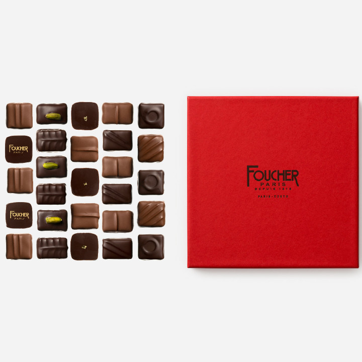 Assortiment de chocolats 250 g