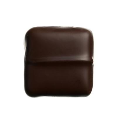 Ganache caramel chocolat noir