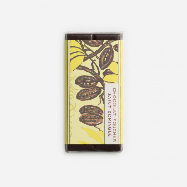 Tablette chocolat noir 100 g Origine Saint Domingue