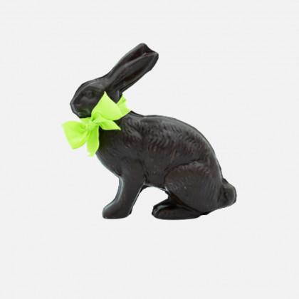 Lièvre en chocolat noir...