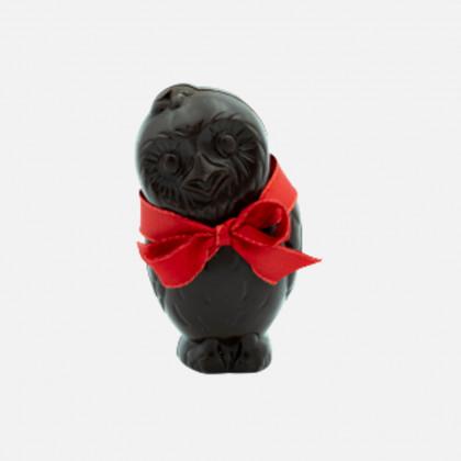 Chouette en chocolat noir...