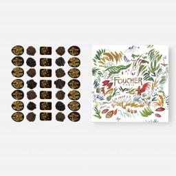Assortiment de pralinés aux noix, à la pistache et aux amandes - 360g