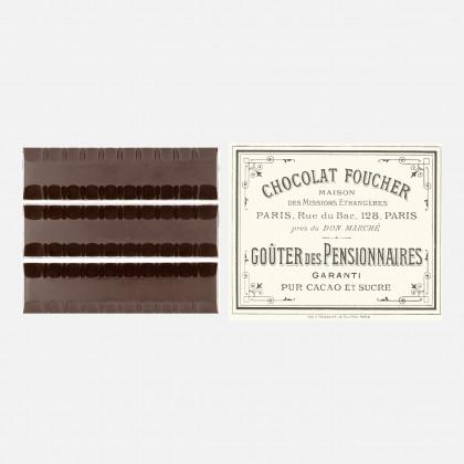 Barres en chocolat au...
